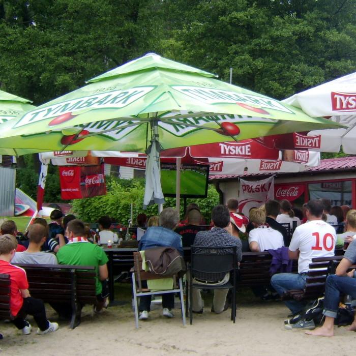 tłumy kibiców - EURO 2012