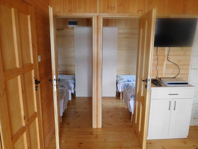 domek komfort pokoje