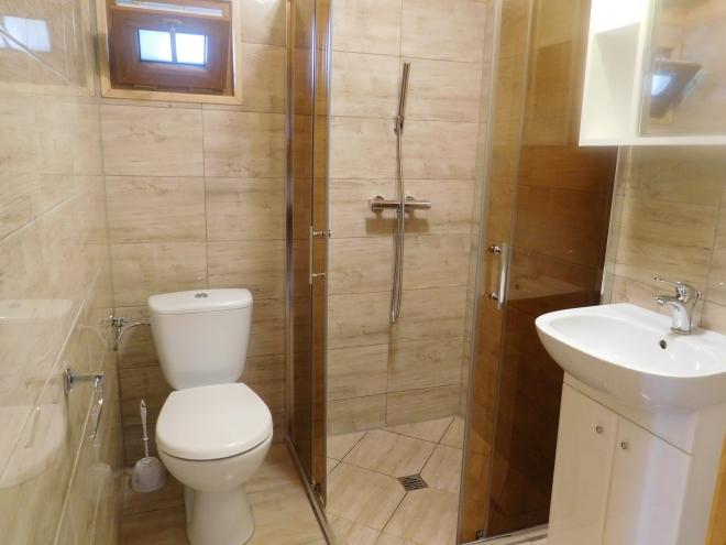 domek komfort łazienka
